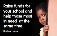 Raise funds for your school and help those most in need at the same time