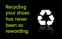 Recycling your shoes has never been so rewarding